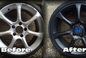 Curb Damage Repair – Houston Auto Repair-Crack, Bent wheel & Rim repair, wheel balancing-Houston Tx
